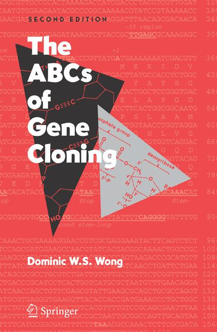 Cover of 'The ABCs of gene cloning'