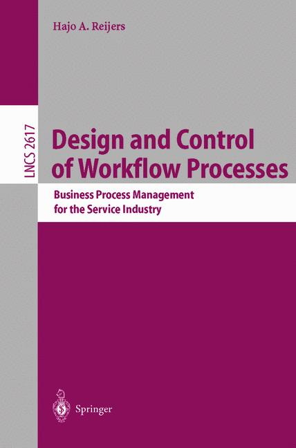 Cover of 'Design and Control of Workflow Processes'
