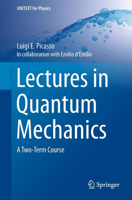 Cover of 'Lectures in Quantum Mechanics'
