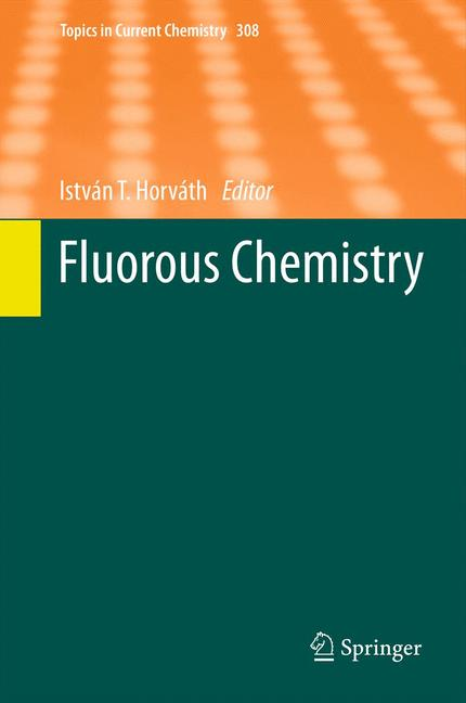 Cover of 'Fluorous Chemistry'