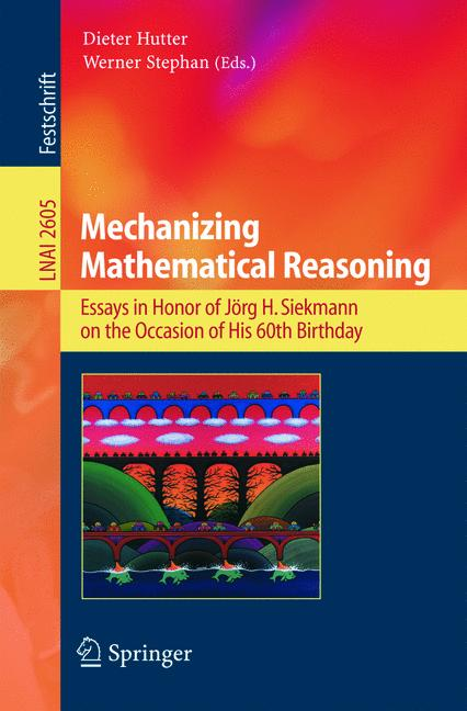 Cover of 'Mechanizing Mathematical Reasoning'