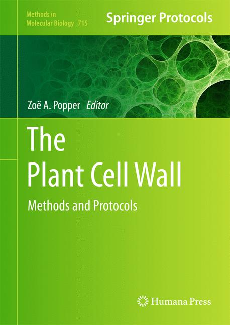 Cover of 'The Plant Cell Wall'