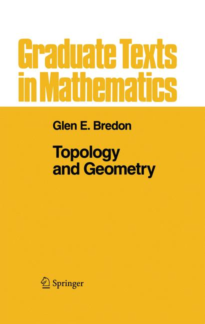 Cover of 'Topology and Geometry'