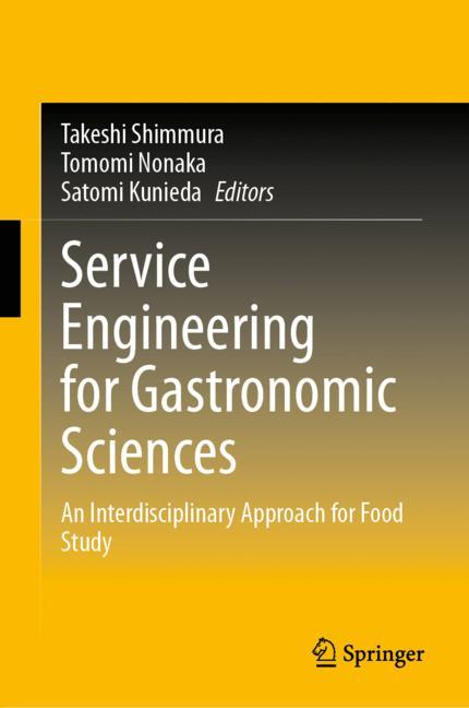 Cover of 'Service Engineering for Gastronomic Sciences'