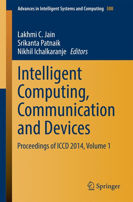 Cover of 'Intelligent Computing, Communication and Devices'