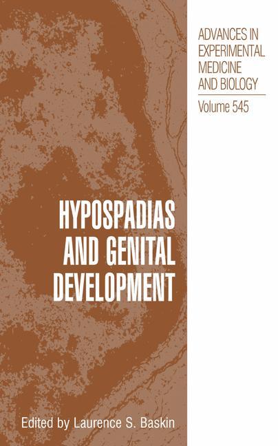 Cover of 'Hypospadias and Genital Development'