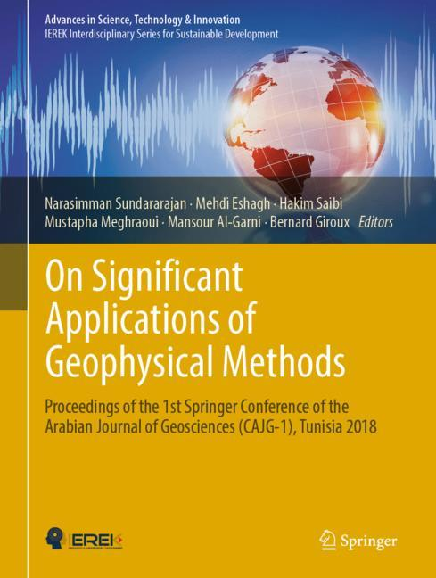 Cover of 'On Significant Applications of Geophysical Methods'