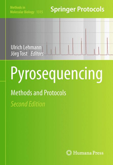 Cover of 'Pyrosequencing'