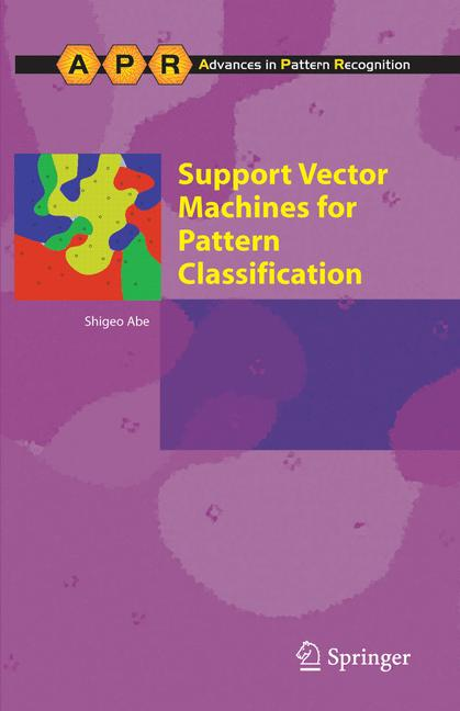 Cover of 'Support Vector Machines for Pattern Classification'