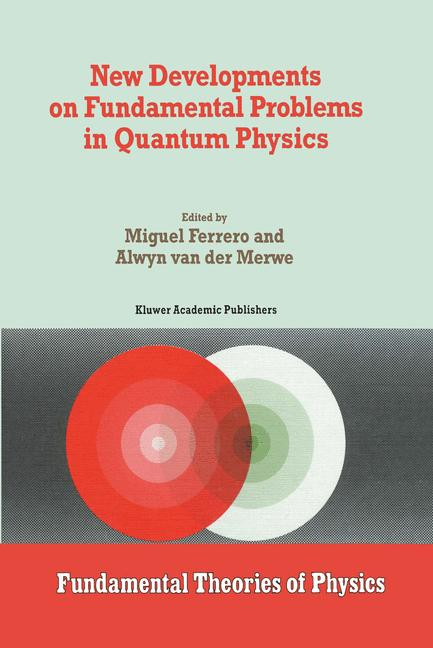 Cover of 'New Developments on Fundamental Problems in Quantum Physics'