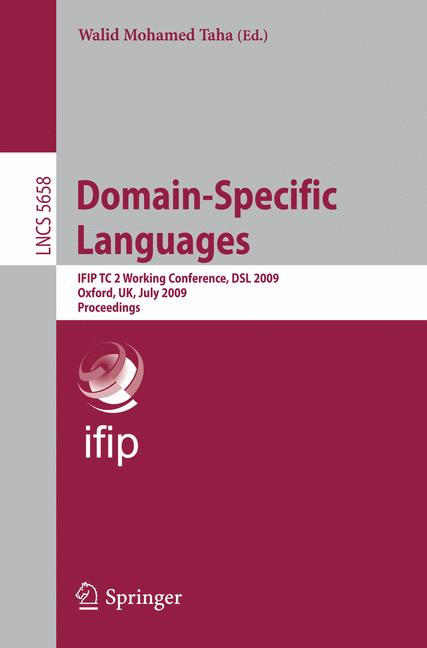 Cover of 'Domain-Specific Languages'