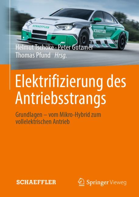 Cover of 'Elektrifizierung des Antriebsstrangs'