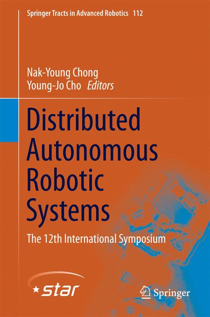 Cover of 'Distributed Autonomous Robotic Systems'