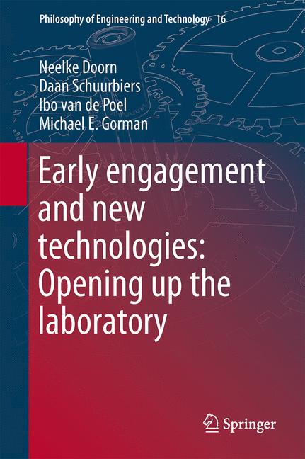 Cover of 'Early engagement and new technologies: Opening up the laboratory'