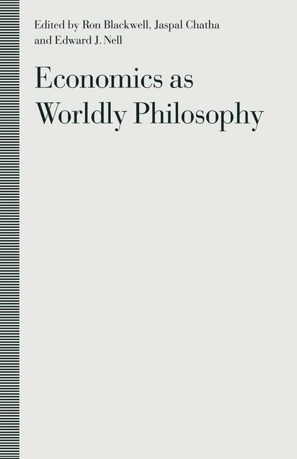 Cover of 'Economics as Worldly Philosophy'