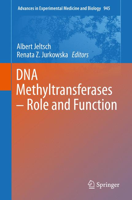 Cover of 'DNA Methyltransferases - Role and Function'