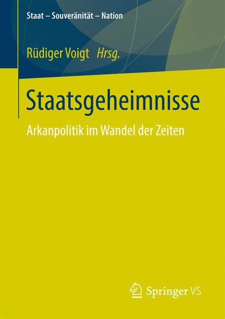 Cover of 'Staatsgeheimnisse'