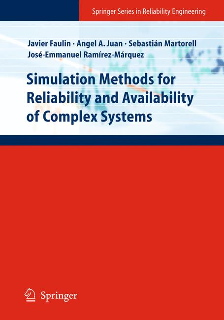 Cover of 'Simulation Methods for Reliability and Availability of Complex Systems'