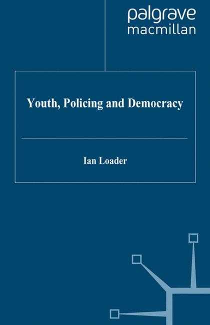 Cover of 'Youth, policing, and democracy'