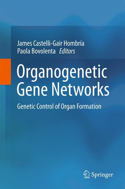 Cover of 'Organogenetic Gene Networks'