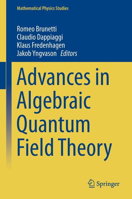 Cover of 'Advances in Algebraic Quantum Field Theory'