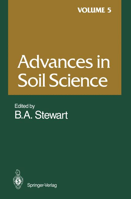 Cover of 'Advances in Soil Science'