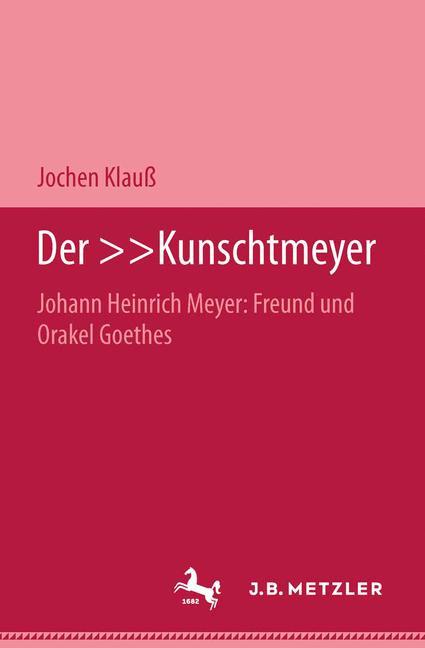 Cover of 'Der »Kunschtmeyer«'