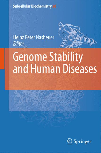 Cover of 'Genome Stability and Human Diseases'