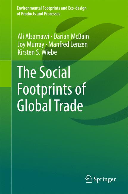 Cover of 'The Social Footprints of Global Trade'