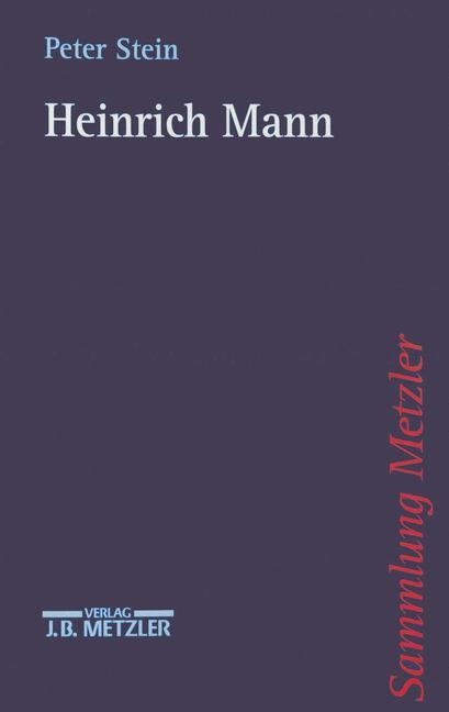 Cover of 'Heinrich Mann'