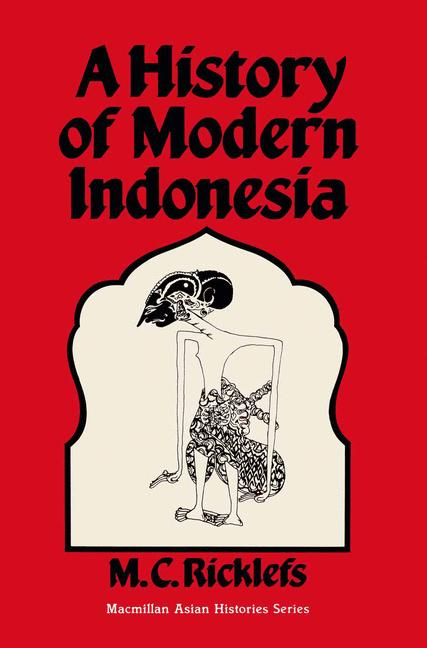 Cover of 'A History of Modern Indonesia'