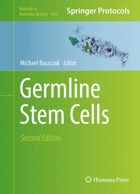 Cover of 'Germline Stem Cells'