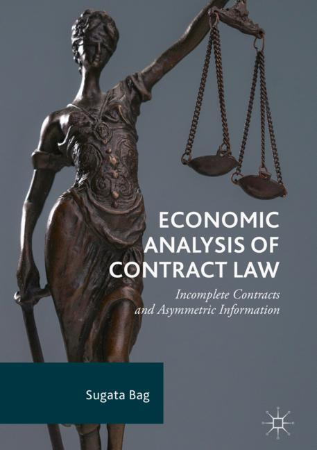 Cover of 'Economic Analysis of Contract Law'