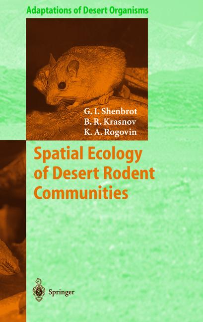 Cover of 'Spatial Ecology of Desert Rodent Communities'