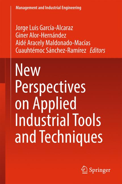 Cover of 'New Perspectives on Applied Industrial Tools and Techniques'