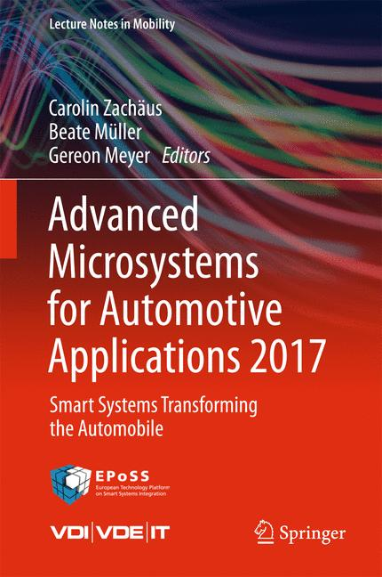 Cover of 'Advanced Microsystems for Automotive Applications 2017'