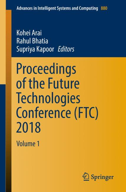 Cover of 'Proceedings of the Future Technologies Conference (FTC) 2018'