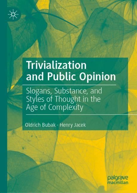 Cover of 'Trivialization and Public Opinion'