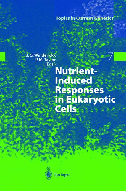 Cover of 'Nutrient-Induced Responses in Eukaryotic Cells'