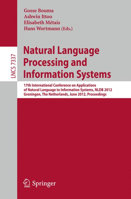 Cover of 'Natural Language Processing and Information Systems'