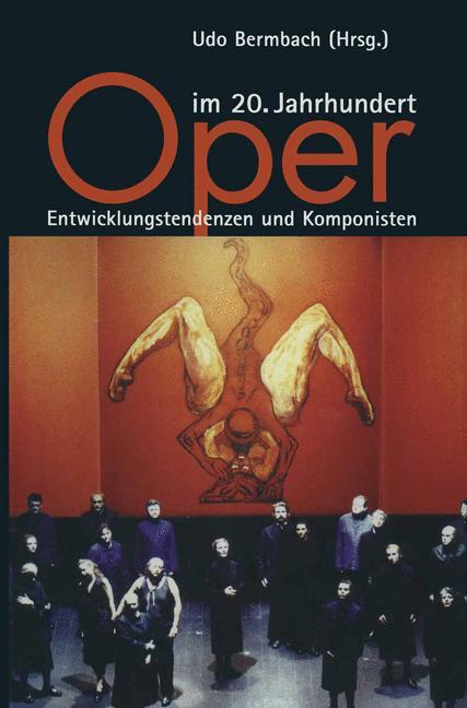 Cover of 'Oper im 20. Jahrhundert'