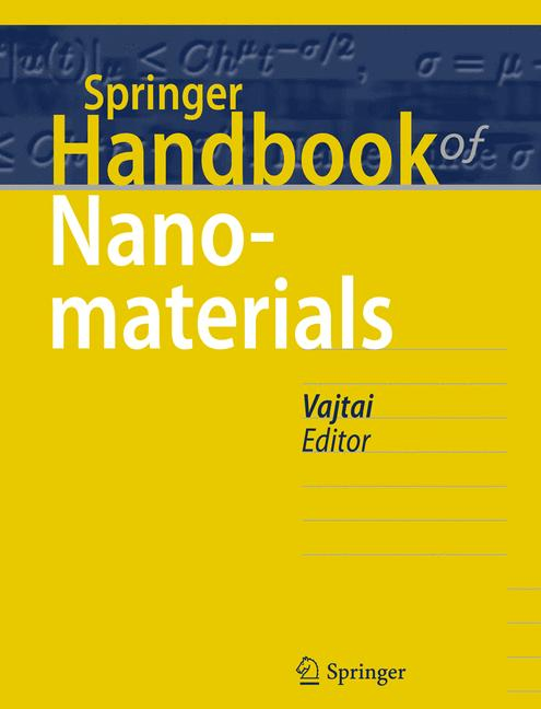 Cover of 'Springer Handbook of Nanomaterials'