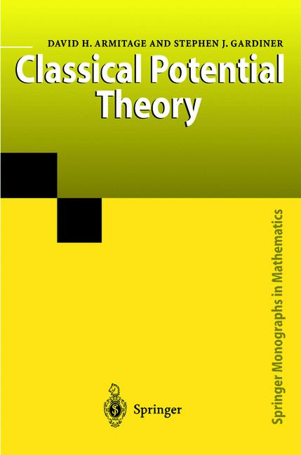 Cover of 'Classical Potential Theory'