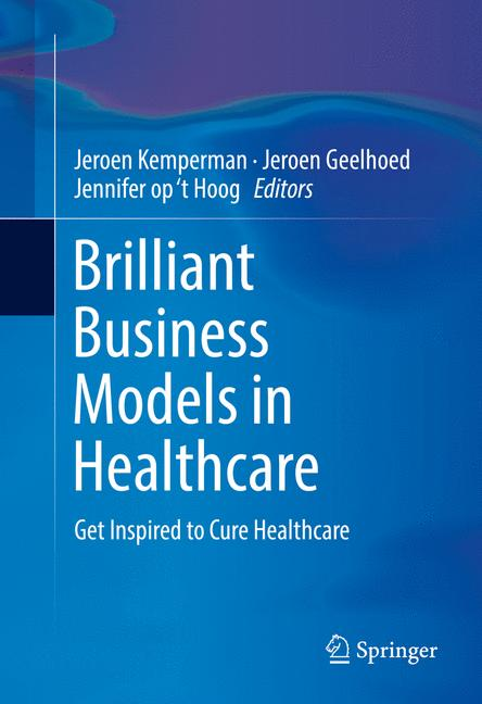 Cover of 'Brilliant Business Models in Healthcare'