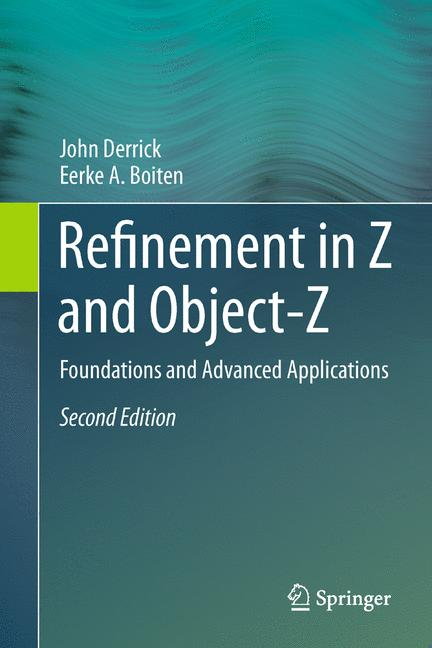 Cover of 'Refinement in Z and Object-Z'