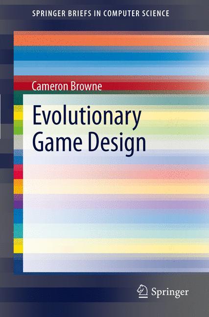 Cover of 'Evolutionary Game Design'