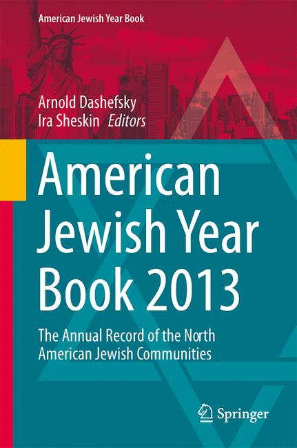 Cover of 'American Jewish Year Book 2013'