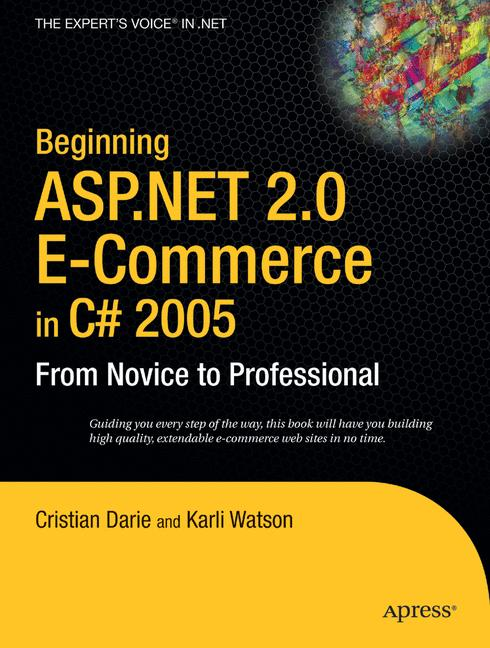 Cover of 'Beginning ASP.NET 2.0 E-Commerce in C# 2005'