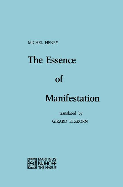 Cover of 'The Essence of Manifestation'