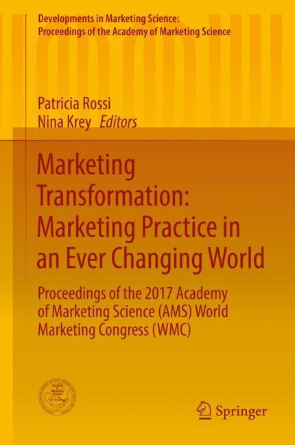 Cover of 'Marketing Transformation: Marketing Practice in an Ever Changing World'